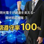 【資材部応援隊①】目指せ、納期遵守率100%